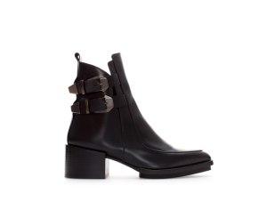 zara boots buckles 80