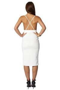 Oh-My-Love_Womens_Fashion_Cream-Deep-V-Midi_OML170_4_large