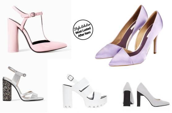 shoe list