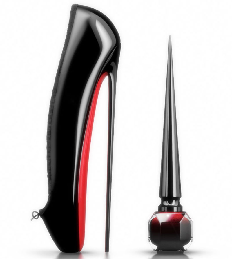 Christian Louboutin Red Nail Polish Shoes